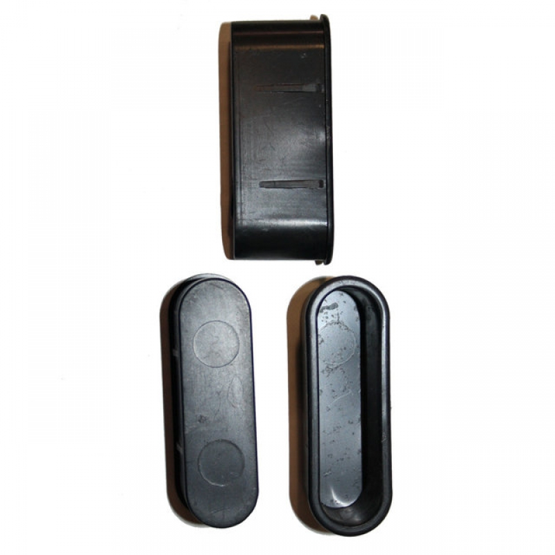 заглушки ванночки для стальных дверей под анкера ригеля и